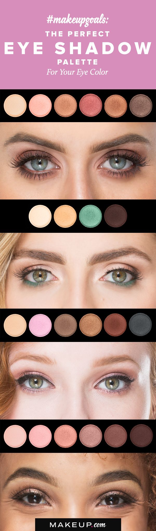 Best 25 hazel eyeshadow ideas on pinterest green hazel eye if youre not sure what eye shadow palette is best for your eye color nvjuhfo Image collections