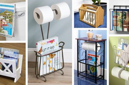 23 Practical and Gorgeous Bathroom Magazine Racks You Will Love