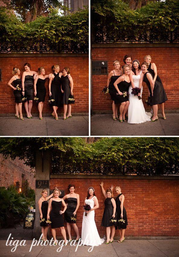 ligaphotography.com // Jennifer & Tony's Wedding #neworleans #neworleanswedding #destinationweddingneworleans #louisianawedding #southernwedding #ligaphotography #bridalparty #bridalpartyportrait #bridesmaids