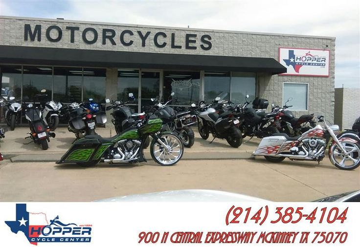 https://flic.kr/p/Gcny8f | Hoppercyclecenter.com has a wide selection of motorcycles and gets new inventory weekly. Sport bikes, Dual Sports, Harleys, Custom Baggers and more. Come visit the Best Little Bike Shop in Texas. | deliverymaxx.com/DealerReviews.aspx?DealerCode=C763