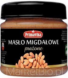 Masło Migdałowe Prażone 185G-Primavika