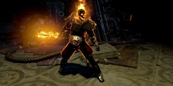Kill Them With Fire in our Exclusive Path of Exile Build ofthe Week Video -  This week's episode analyses a Fire Overkill Proliferation Templar that amplifies pure fire damage skills to burn enemies en masse. The character uses the newly added Herald of