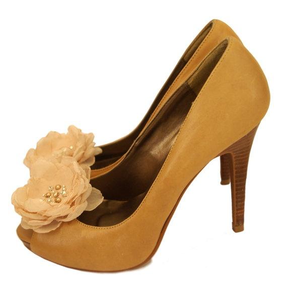 Shoe Clip Set - Flower Shoe clips in