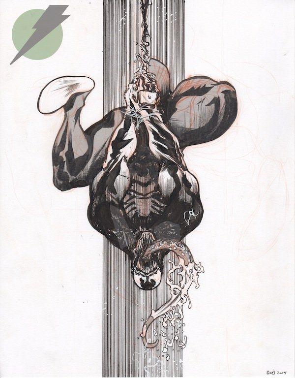 Venom by Daniel Warren Johnson Comic Art