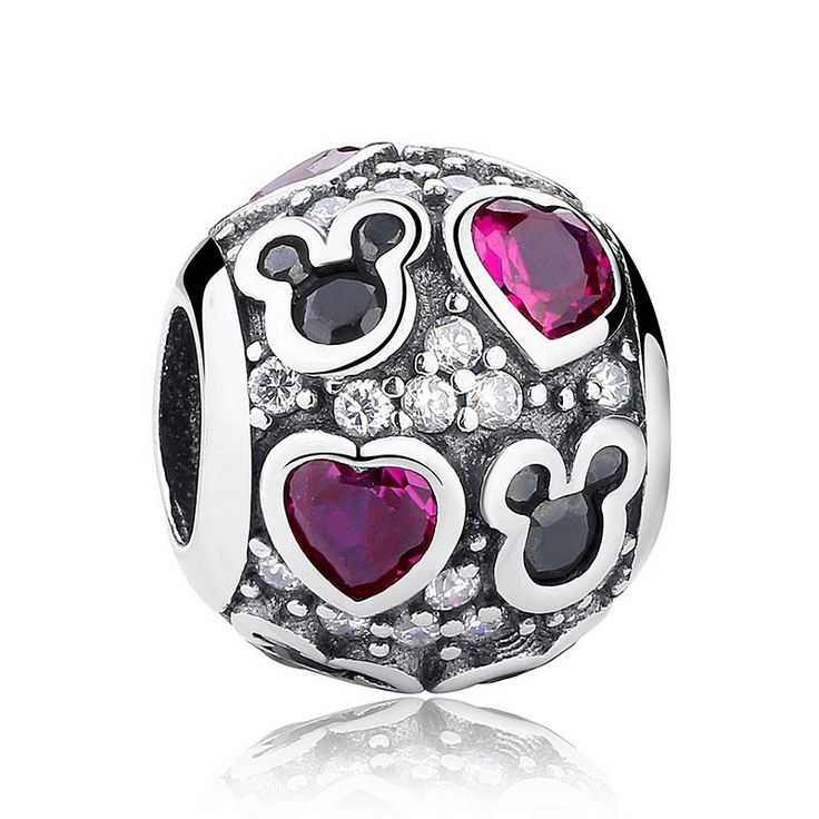 925 sterling silver 20 styles love heart charm beads
