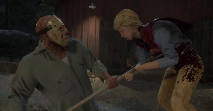 Это надо видеть. Джейсон Вурхиз МОЧИТ в новом шок-трейлере Friday the 13th: The…