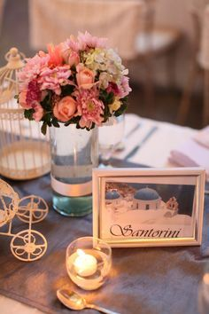 table number locations - framed