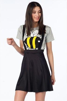 Haftalık Stil Rehberi by Olgun Orkun · Kadın Tekstil - Siyah Etek O&O-5B132038 %60 indirimle 17,99TL ile Trendyol da