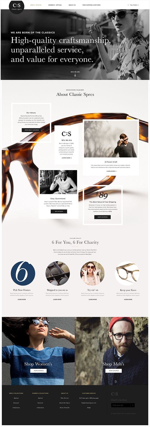 C:S Redesign by Joshua Long, via Behance