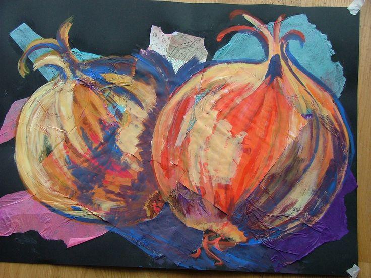 VAL. © mixed media, onions