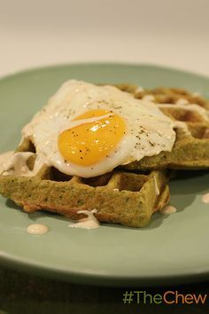 Can you waffle a falafel? Yes you can! Carla shows you how!