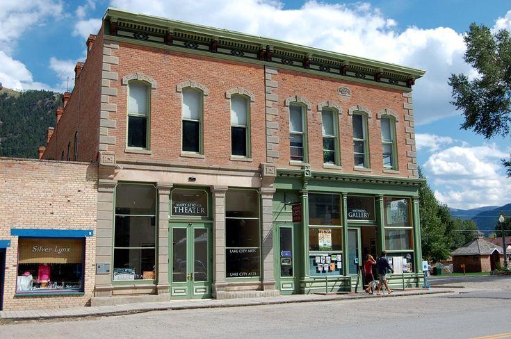 Lake City National Historic District. Lake City, Colorado