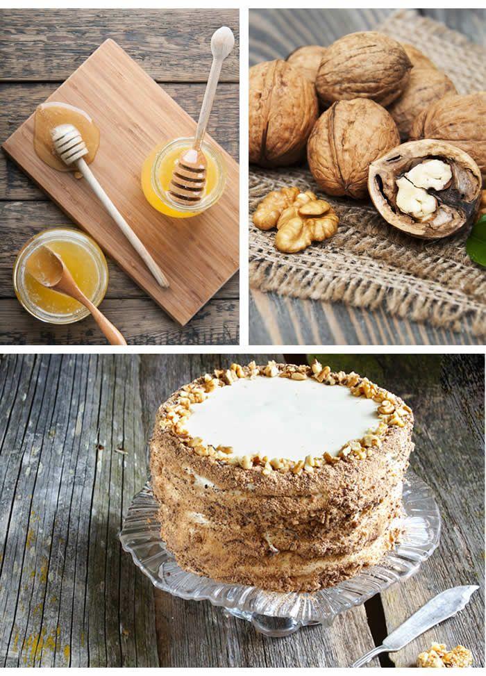 Medovik cake, una dolce rivoluzione russa a colpi di miele. Scopri questa gustosa ricetta. #cake #toomaki