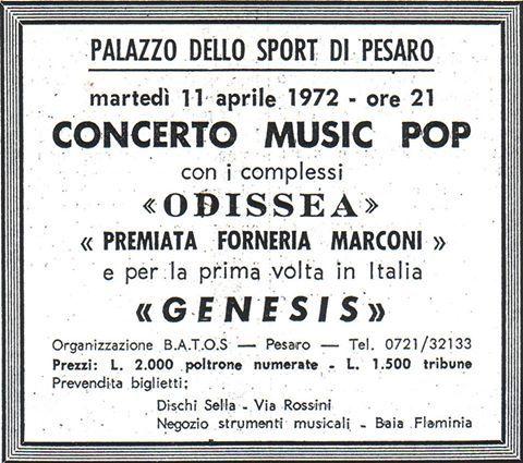 Genesis & Co. Today: 11/4 – SPECIAL & AUDIO