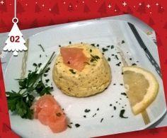 Flan al salmone affumicato - Natale