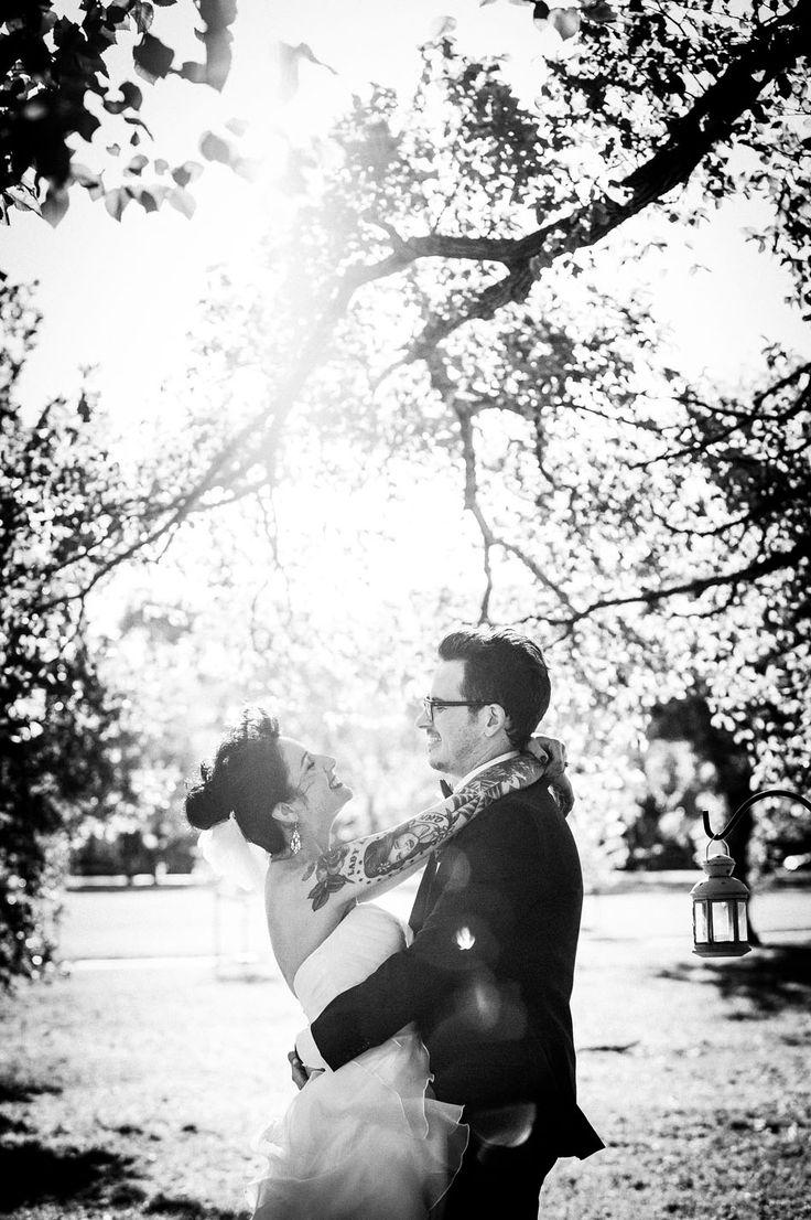 Rockabilly wedding in Darling Gardens, Collingwood (Melbourne)