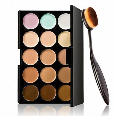 15+colori+crema+contorno+viso+trucco+correttore+palette+++strumento+fondotinta+trucco+pennello+ovale+–+EUR+€+8.22