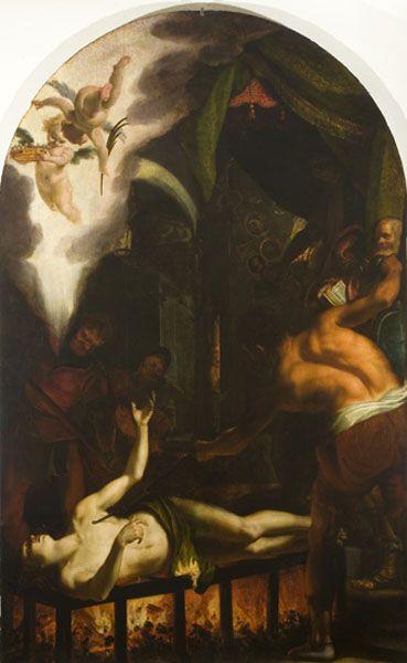 Ludovico Cardi detto Cigoli, Martirio di San Lorenzo