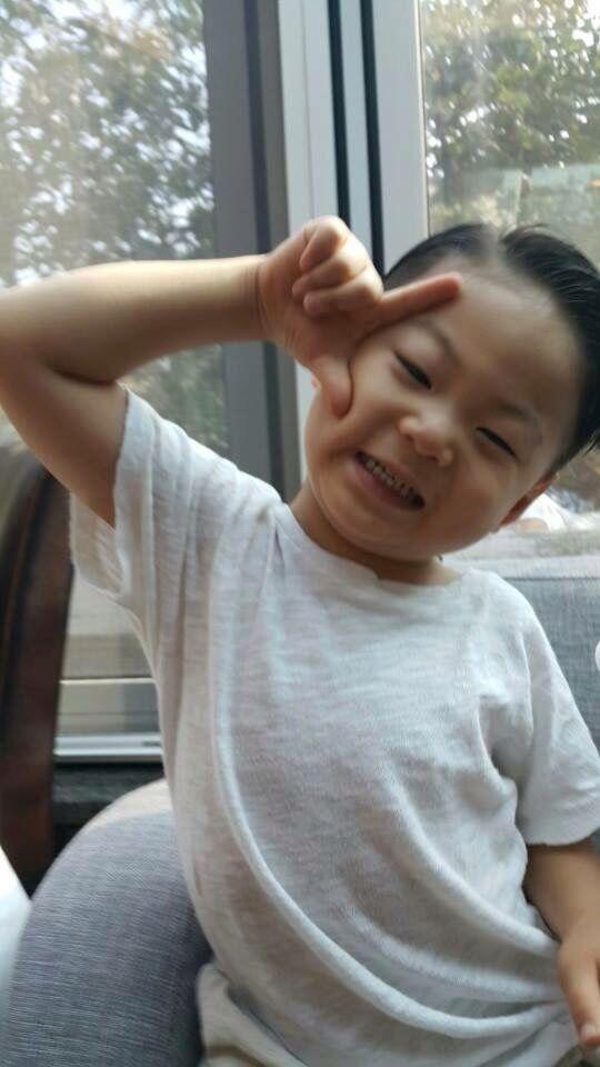 #Cr. แม่3แสบ #Daehan Minguk ManSe# Thailand FB #Song's Cute Triplets