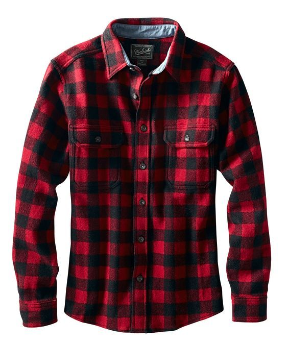 Woolrich wool buffalo check shirt giyimm pinterest for Buffalo check flannel shirt jacket