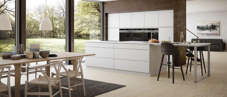 Kviks Mano køkken oser af dansk design: Et køkken som udstråler enkelthed, form og funktion, og som kan kombineres ud fra dine personlige behov. Se mere…
