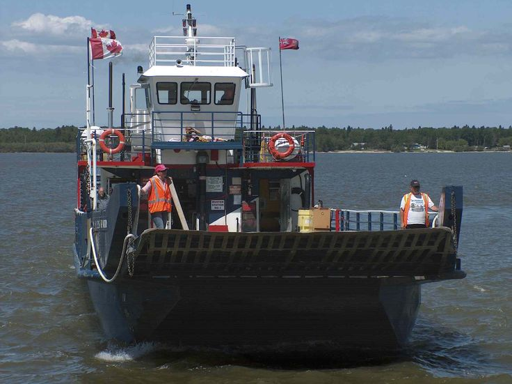 Photos of the M.V. Edgar Wood was the province's oldest ferry.