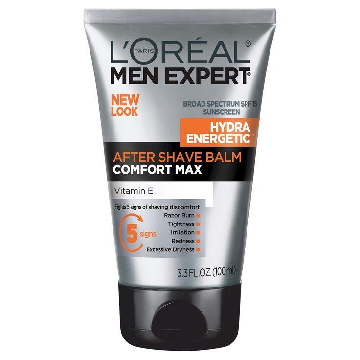 L'Oreal Paris Men Expert Comfort Max Spf 15 Anti-Irritation After Shave Balm - 3.3 fl oz