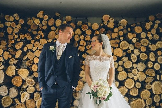 Everything about Fiona and Sean's classic wedding came together beautifully at Virginia Park Lodge and with chef Richard Corrigan in the kitchen, this is one we really wish we'd been at!