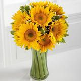 Endless Summer Sunflower Bouquet with Vase - FTD Flowers Delivery