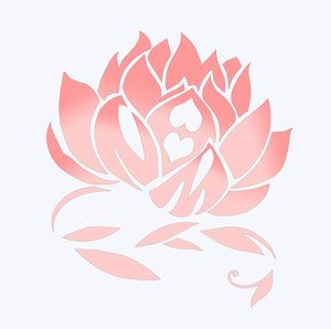 thinking about a lotus this time- right at the nape of my neck