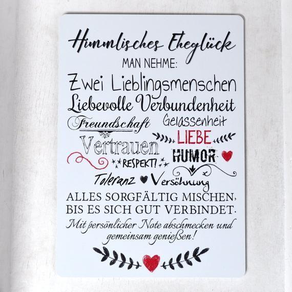 Wedding Sign In Alu Himmlisches Ehegluck Weatherproof Wedding Signs Word Collage Reconciliation