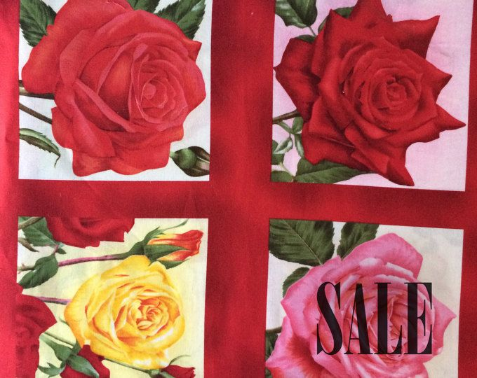 Rare cotton print fabrics and batiks by WoodlawnDecor on Etsy