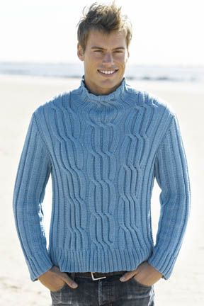 Free Mens Cable Knit Sweater Patterns : 1000+ images about Knitting for Men on Pinterest Cable, Cable sweater and S...