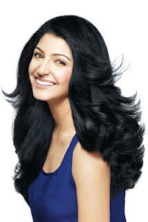 Tips For Anushka Sharma Beautiful Hair  @ http://indianhairtips.blogspot.in/2012/04/nine-tips-for-healthy-beautiful-hair.html