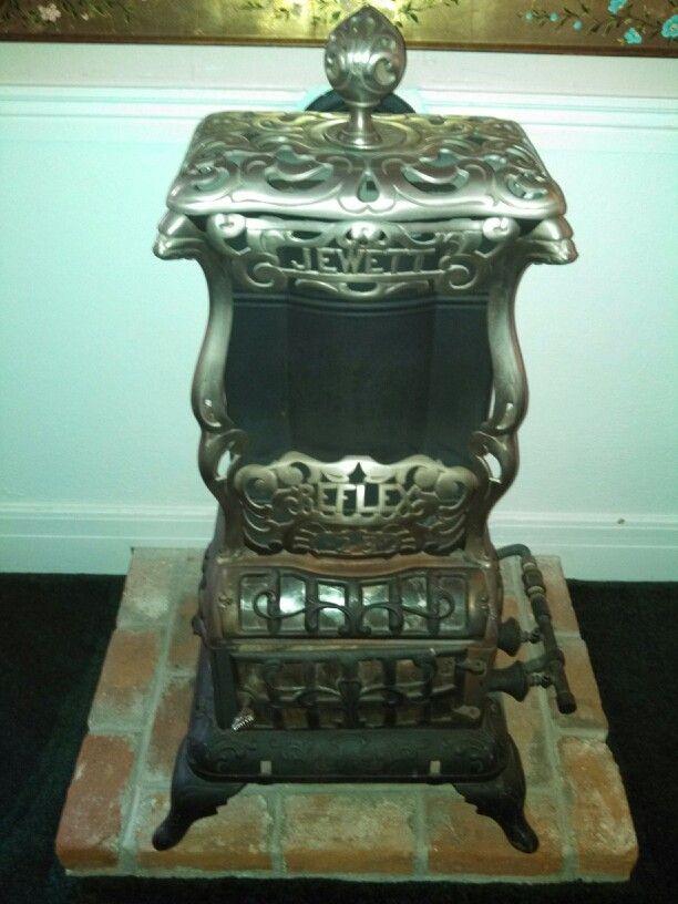 Jewett Reflex Gas Stove Heater At The Copper Queen Hotel