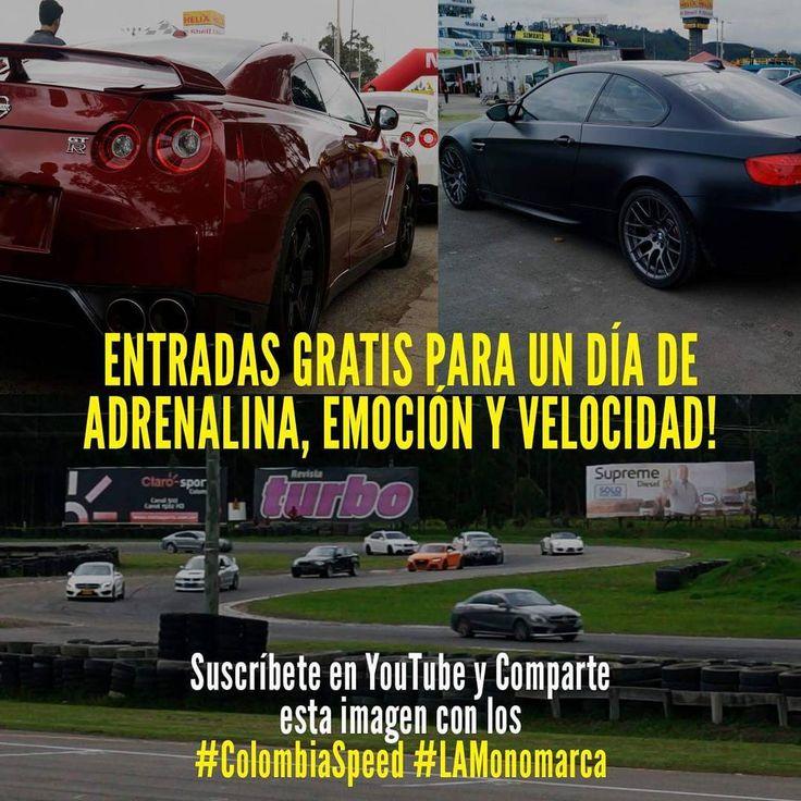 Suscríbete: (link en el perfil) y comparte esta imagen con los #ColombiaSpeed #LAMonomarca, gana entradas para este domingo 23 de abril! �� TE ESPERAMOS ☺️ - - - #bmw #bmwm #bimmer #bmwm #supercars #sportcars #video #cars #carros #Colombia #Colombiaspeed #autos #crazy #Bogota #city #gtr #nissan #tocancipa http://unirazzi.com/ipost/1498151236216734474/?code=BTKgJyegsMK