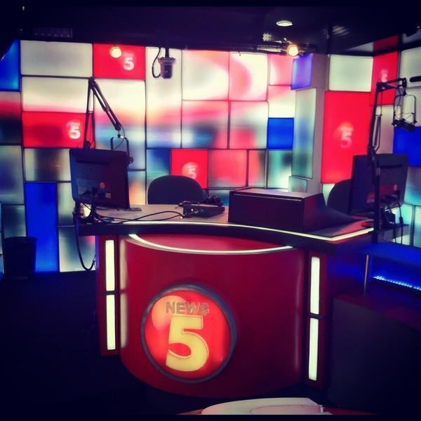 TV5 RADYO 5 News Room by Mickey Hirai, via Behance