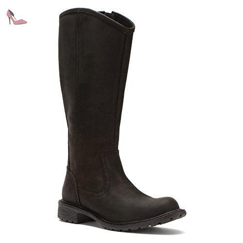 Timberland, Bottes pour Femme - noir - noir, 42 EU - Chaussures timberland (*Partner-Link)