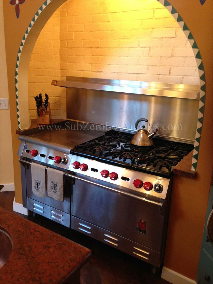 #WolfRange Natural Gas Serviced And Repaired In Los Angeles CA 2014. Wolf  OvenOven RangeGas ...