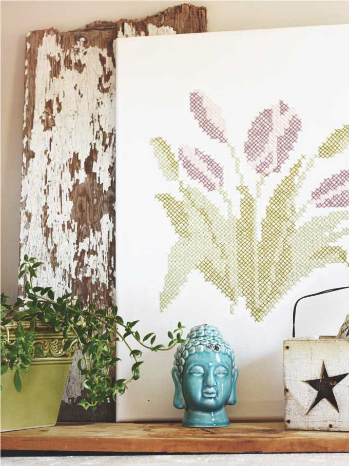 fun crafts for your home. 15 cross-stitch patterns to try your hand at. diy craft projectsfun fun crafts for home