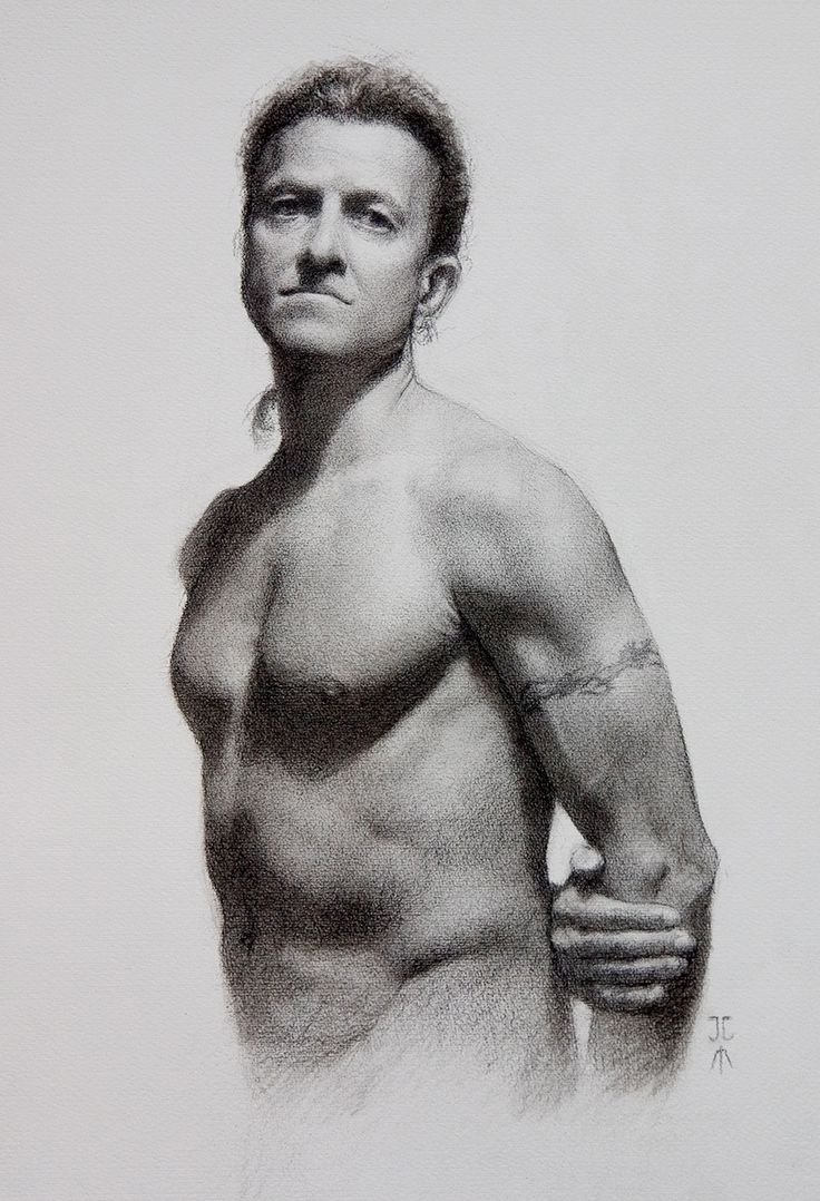 Figure study by Juan Martinez.