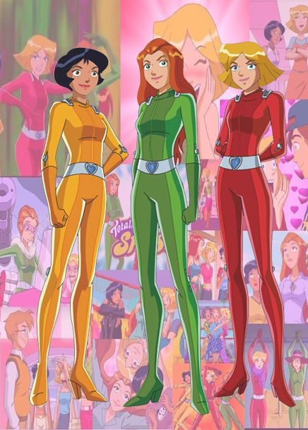 ...je regardais l'émission Totally Spies!
