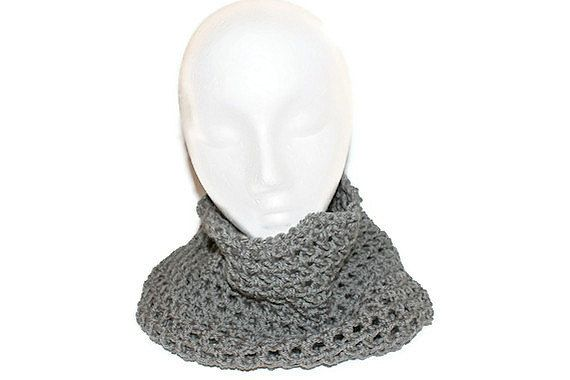 Autumn Fashion Cowl  Mens Infinity Scarf  Womens by lanacooper,