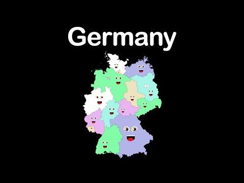 Germany/Country of Germany/16 States of Germany - YouTube