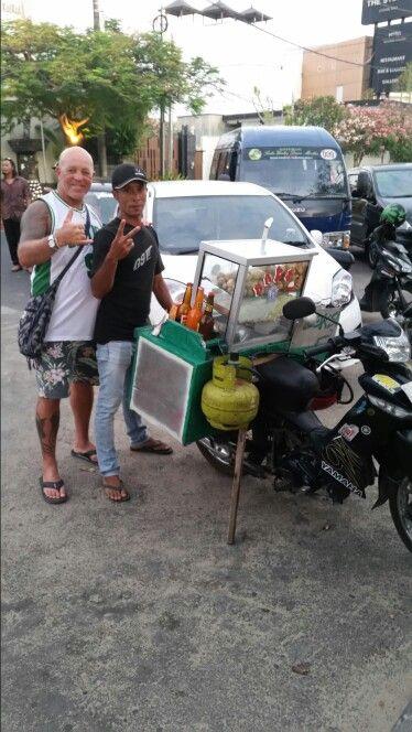 The street food wagon