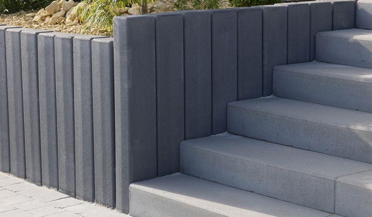 die besten 10 palissade beton ideen auf pinterest cloture en beton terrasse en beton und. Black Bedroom Furniture Sets. Home Design Ideas