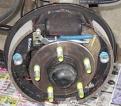 2003 Ford Taurus Drum Brakes  Sable  Taurus Brake