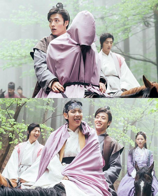 "160913 SBS ""Scarlet Heart: Ryeo"" website update❤️ _"