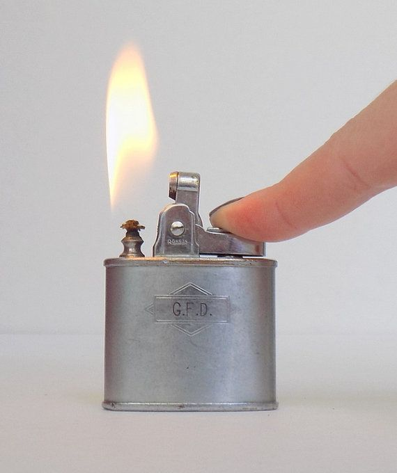 1940s Ronson Lighter Working Silver Ronson by VintageTobacciana
