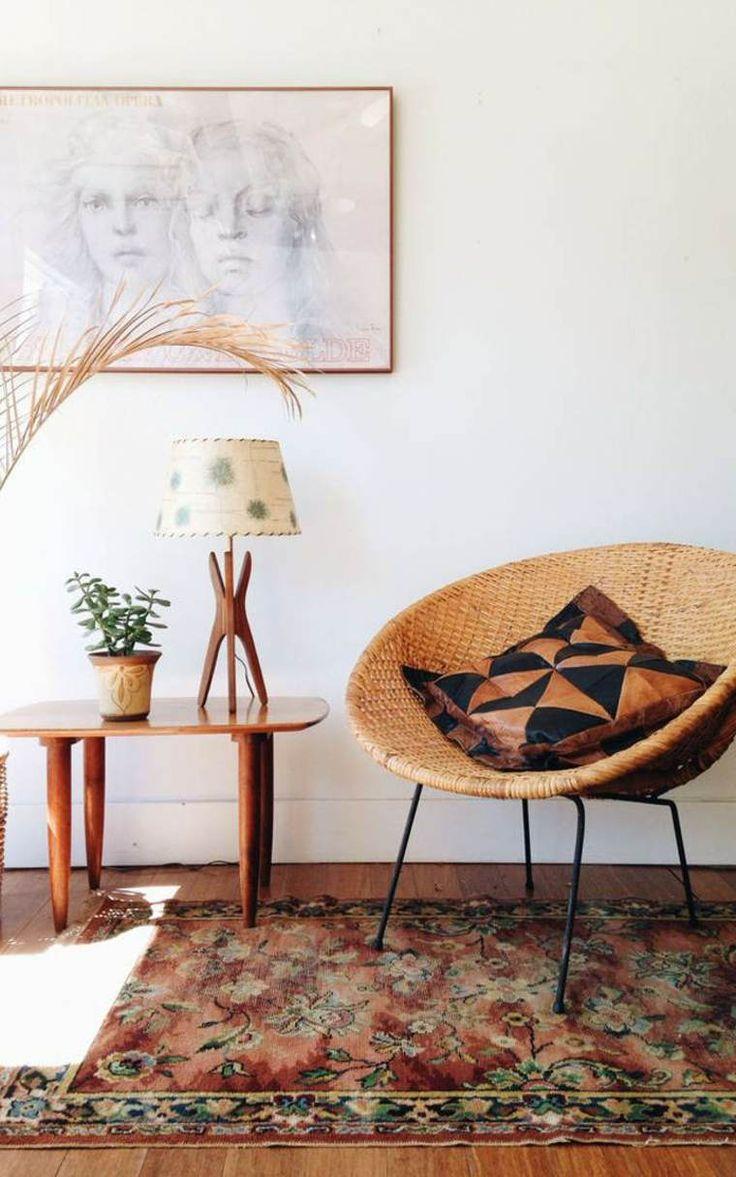 Papasan Chair In Living Room 1000 Images About Salon Salle De Sacjour On Pinterest Retro